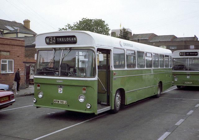 Old Crosville Bus