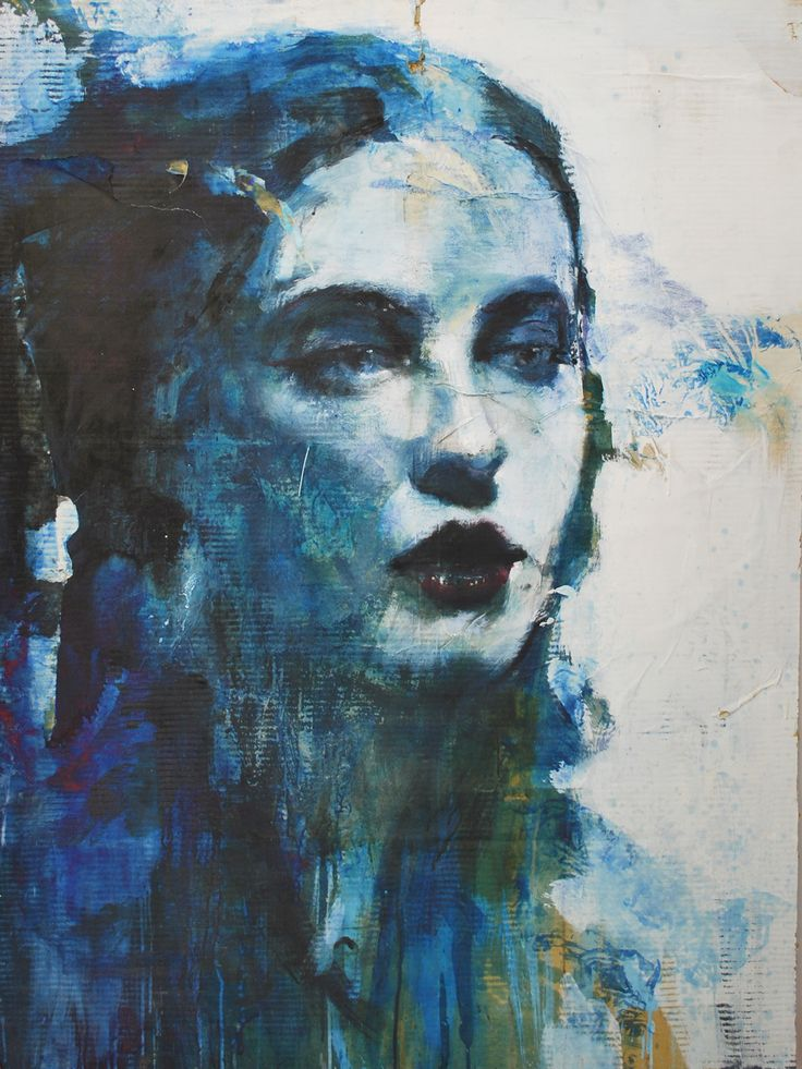 Painting Human figure Ink - Artist Max Gasparini (Bergamo Italy)
