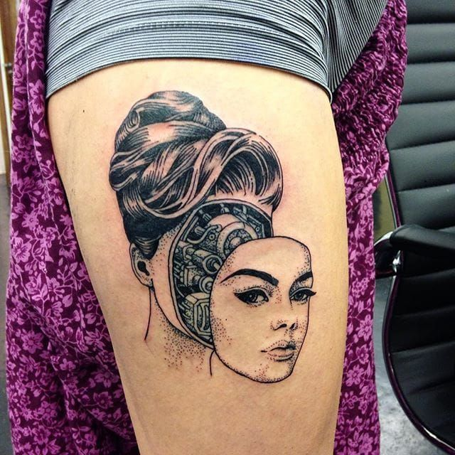 https://www.tattoodo.com/a/2015/10/16-fascinating-cyborg-android-and-robot-tattoos/                                                                                                                                                                                 More