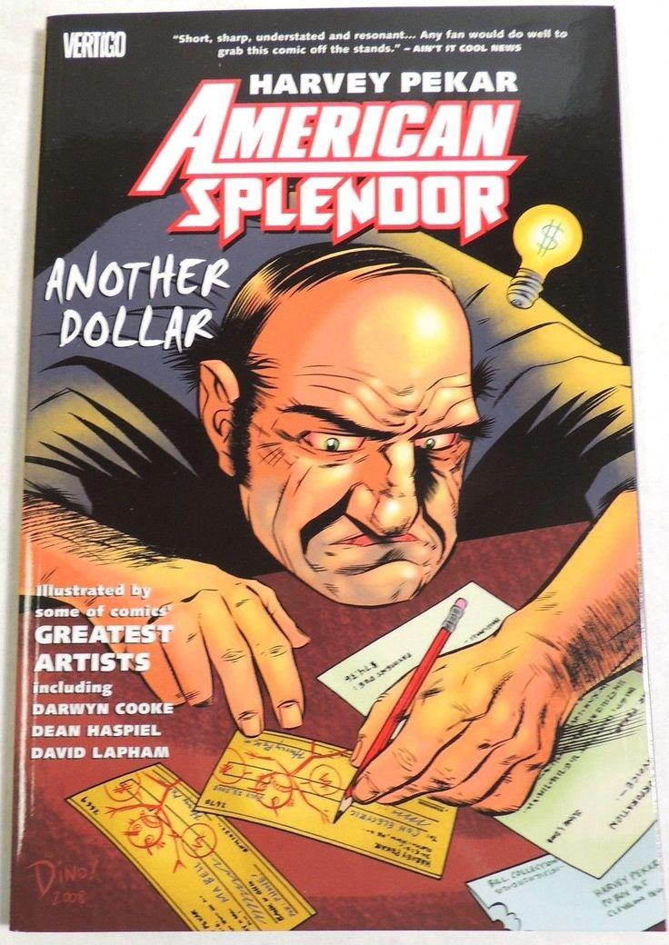 ESL3140. Harvey Pekar American Splendor Another Dollar TPB Vertigo DC (2009)_ | eBay