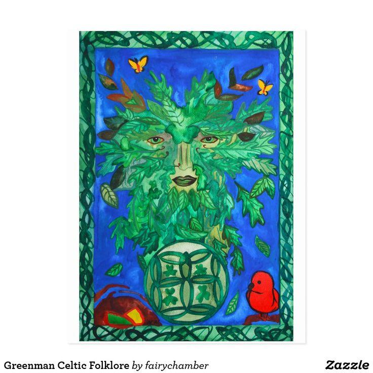 Greenman Celtic Folklore