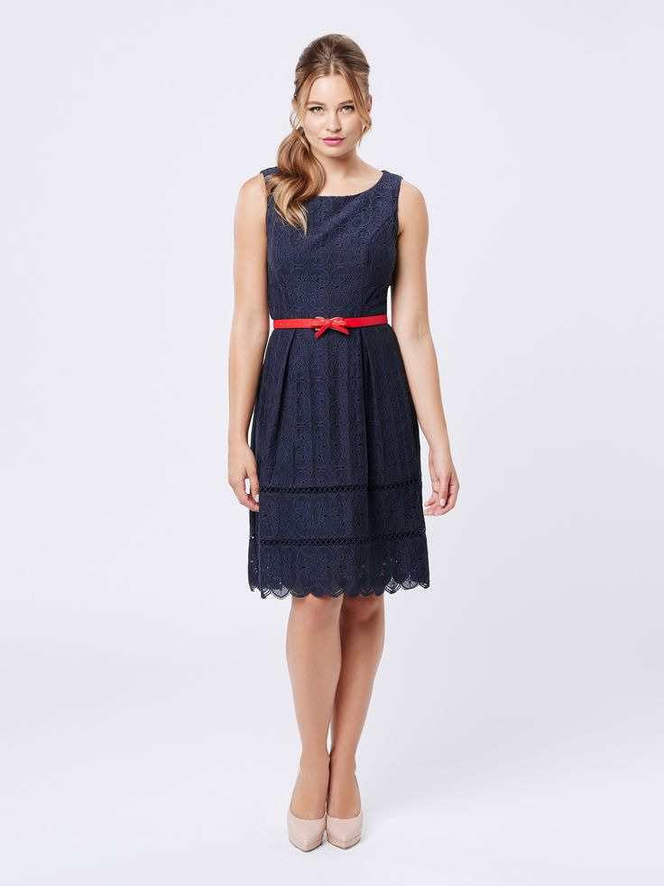 Lyana Dress | Navy Dresses | Review Australia