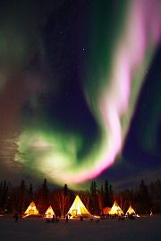 Aurora Village @ Yellowknife, Canada.