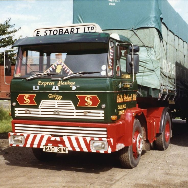Since 1976, it has become tradition for each new Eddie Stobart truck to be…