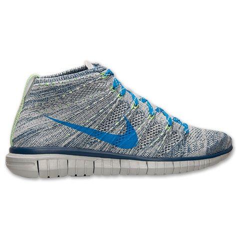 Nike Free Flyknit Chukka Online Sports Shoes Blue Gray