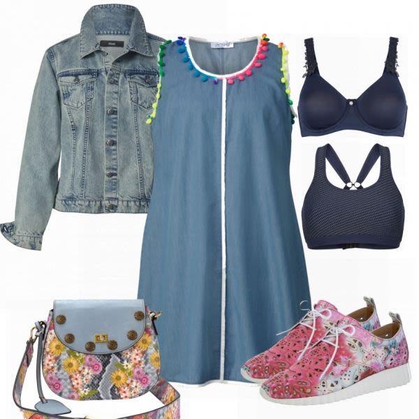 Große Größen Outfits: Ghappy outfit bei FrauenOutfits.de #mode #damenmode #fr…