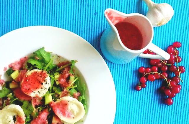 Alexa 089: Sommersalat mit Johannisbeeren-Gurken Dressing