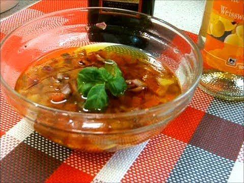 Салатная заправка с помидорами  / Vinaigrette au tomate