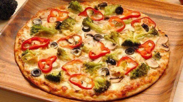 Супер вкусная и низкокалорийная пицца для худеющих☝ / Медицина для всех