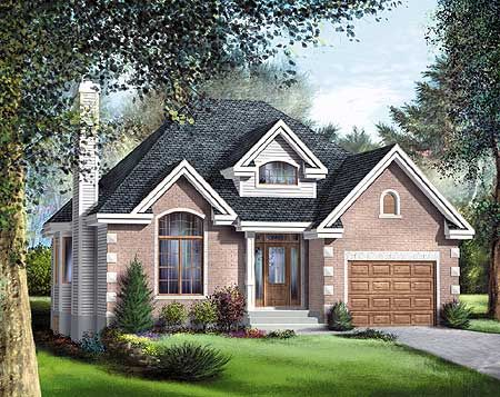 Plan 80399pm Elegant One Story House Plan Elegant Transom Windows And Cathedral Ceilings