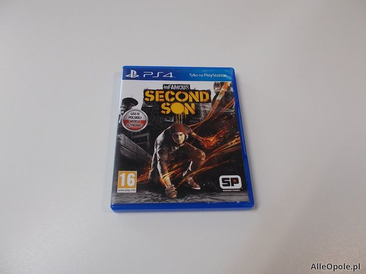 Infamous Second Son - GRA Ps4 - Opole 0453 (Opole)