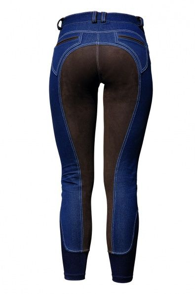 The Connected Rider - English Tack and Riding Apparel - Horseware Summer Denim Breech, $140.00 (http://www.theconnectedrider.com/riding-apparel/womens-riding-apparel/breeches/horseware-summer-denim-breech/)