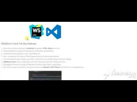 WebStorm 2018 3 5 Build 183 5912 23 Overview Download