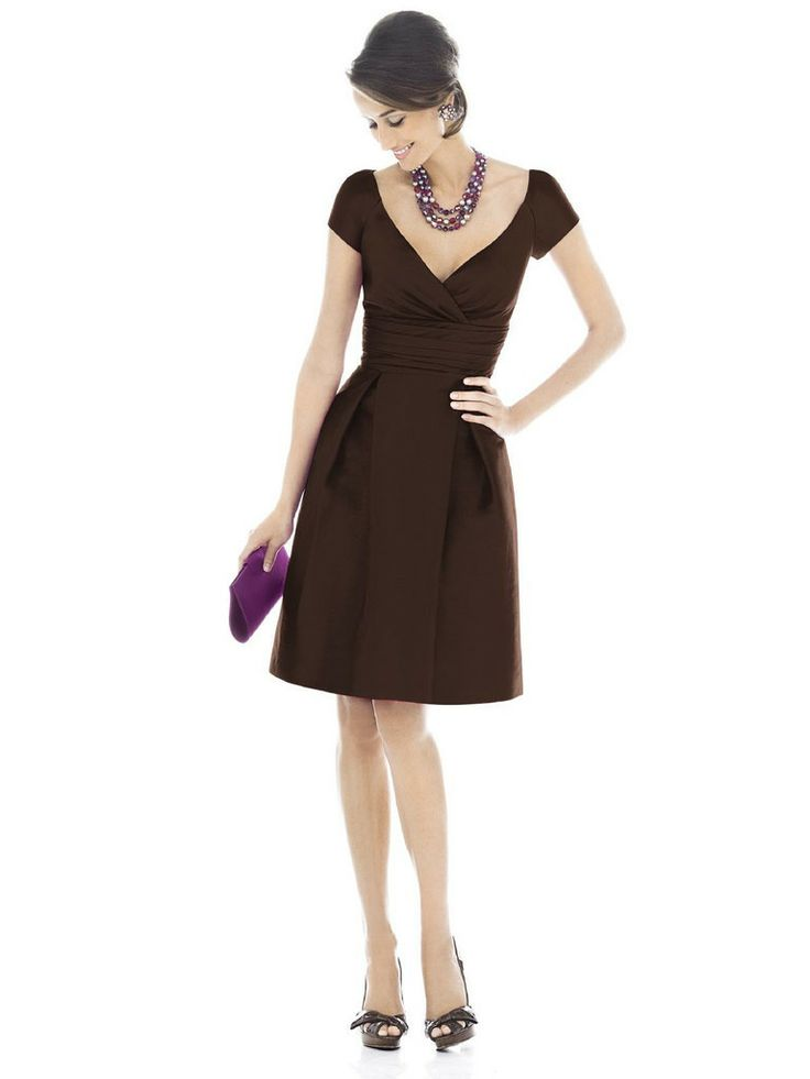 19 best Brown Bridesmaid Dresses images on Pinterest | Brides ...