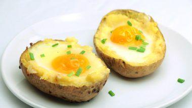 Receta de huevo relleno al horno   – Recetas y comida