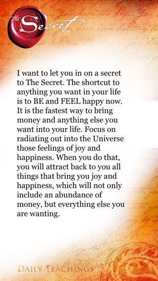 the secret to health