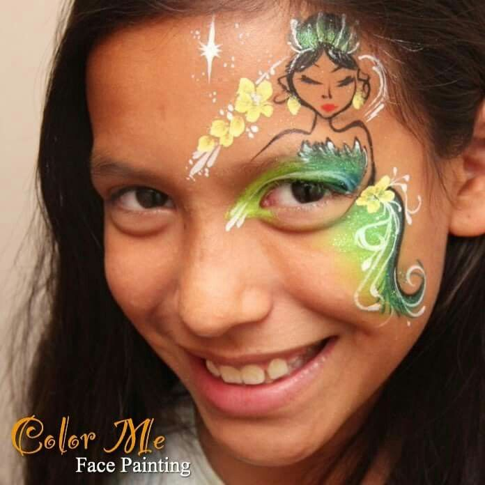 Princess Tiana Face: 86 Best Images About Face Painting On Pinterest