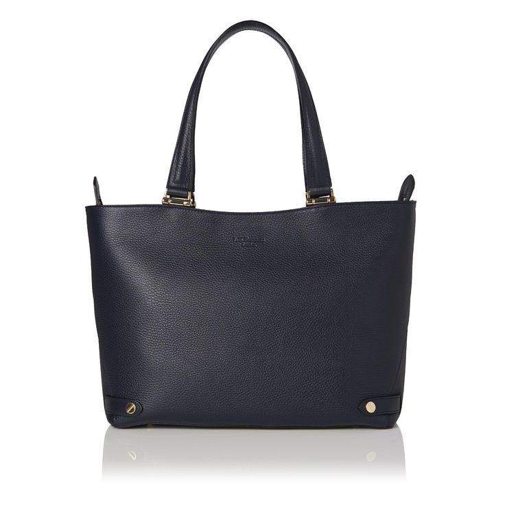 Roberta Blue Leather Tote | Handbags | L.K.Bennett