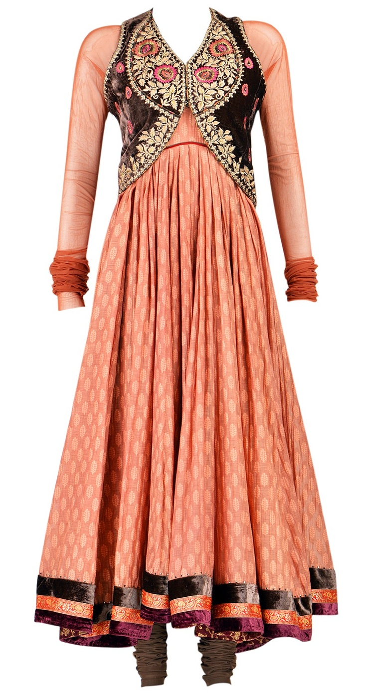 Super modern red and blue indian outfit would this be an anarkali
