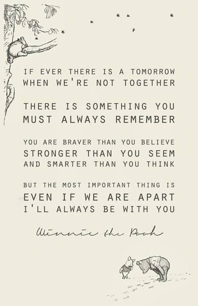 Winnie the Pooh BFF quote