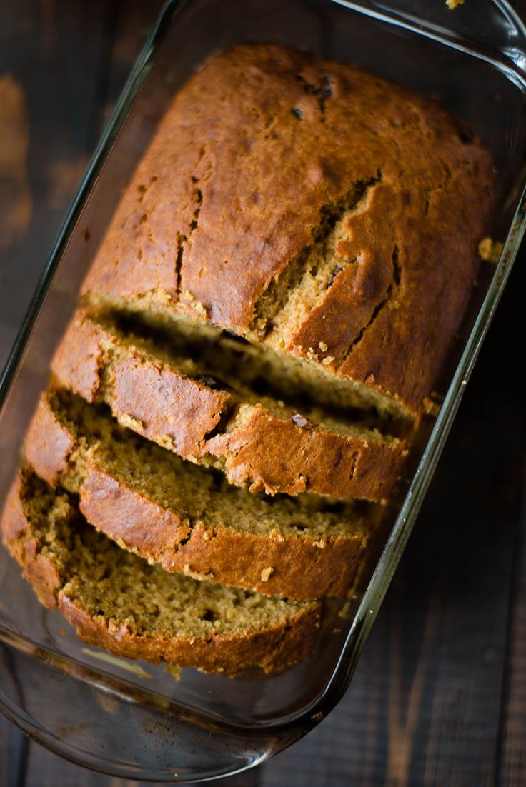 Pumpkin Raisin Bread.  Very fast and easy to make; definite repeat.  Good flavor and texture (not too sweet).