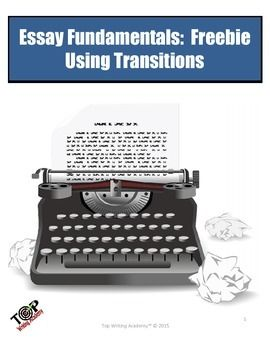 effective words to use in an essay A list of transition words — with examples on how to use these transitional devices in writing to connect one idea with another.