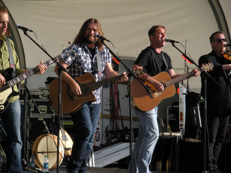 Great Big Sea, Crested Butte CO, July 2011