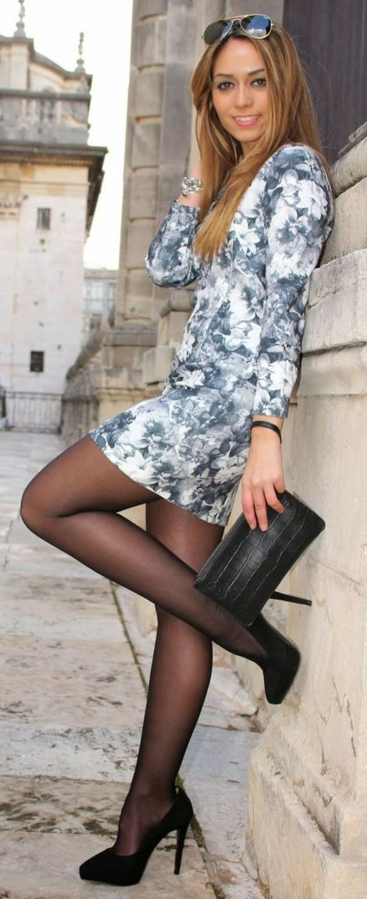 Was not elegant sheer pantyhose and sexy