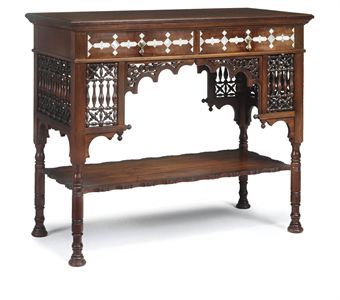 Moorish side tables and victorian on pinterest Home furniture victoria street