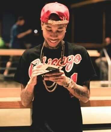 Tyga Smiling (: New Hip Hop Beats Uploaded http://www.kidDyno.com