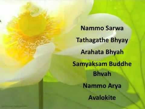 2 The Great Compassion Mantra in Sanskrit - YouTube