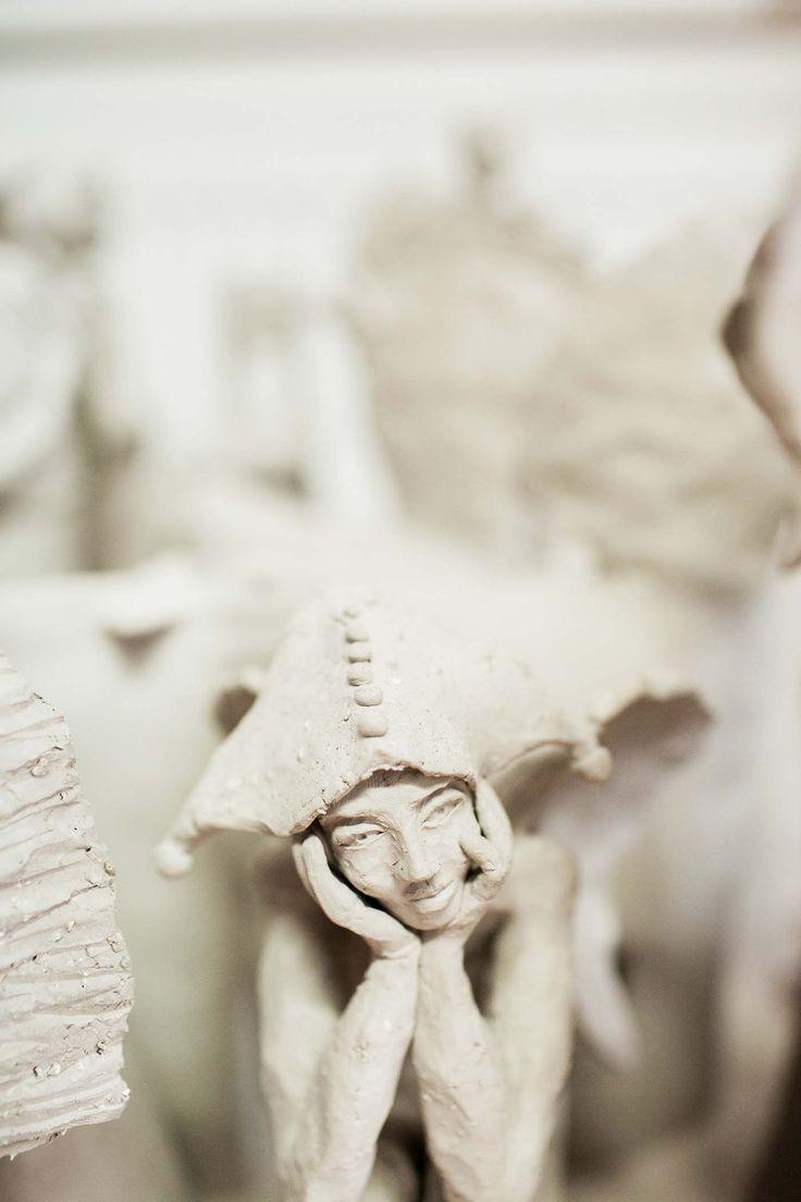 Arek Szwed ceramiczna rzeźba