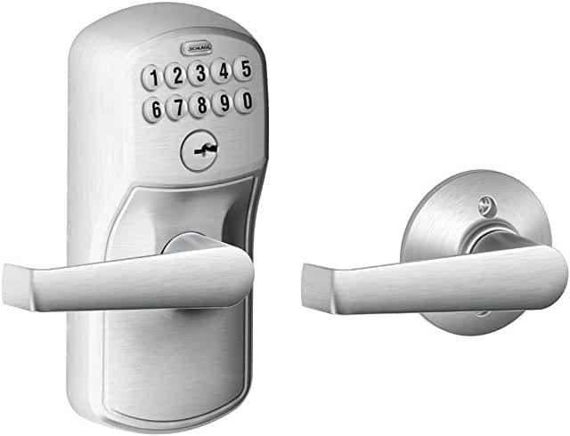 Amazon Com Keyless Front Door In 2020 Door Handles Schlage Door Lock System