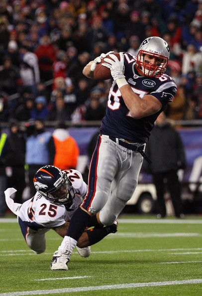 Rob Gronkowski Photos - Divisional Playoffs - Denver Broncos v New England Patriots - Zimbio