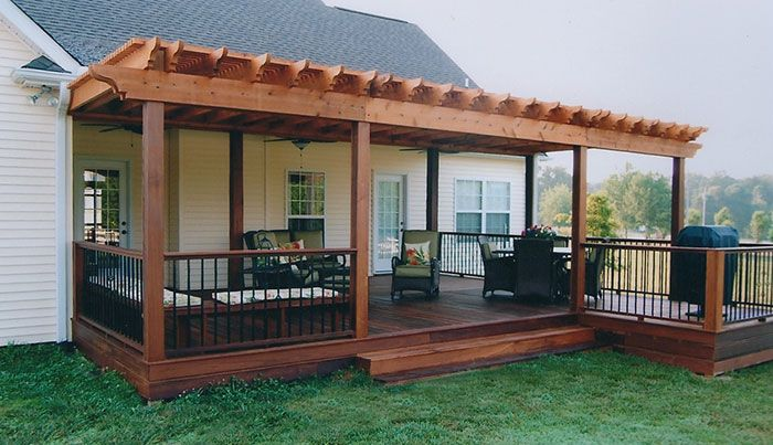 10 DIY Awesome And Interesting Ideas For Great Gardens 7. Covered DecksCovered  Pergola PatioCovered ...