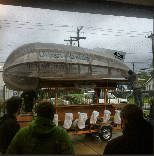 Urban Airship's awesome transport for SXSW