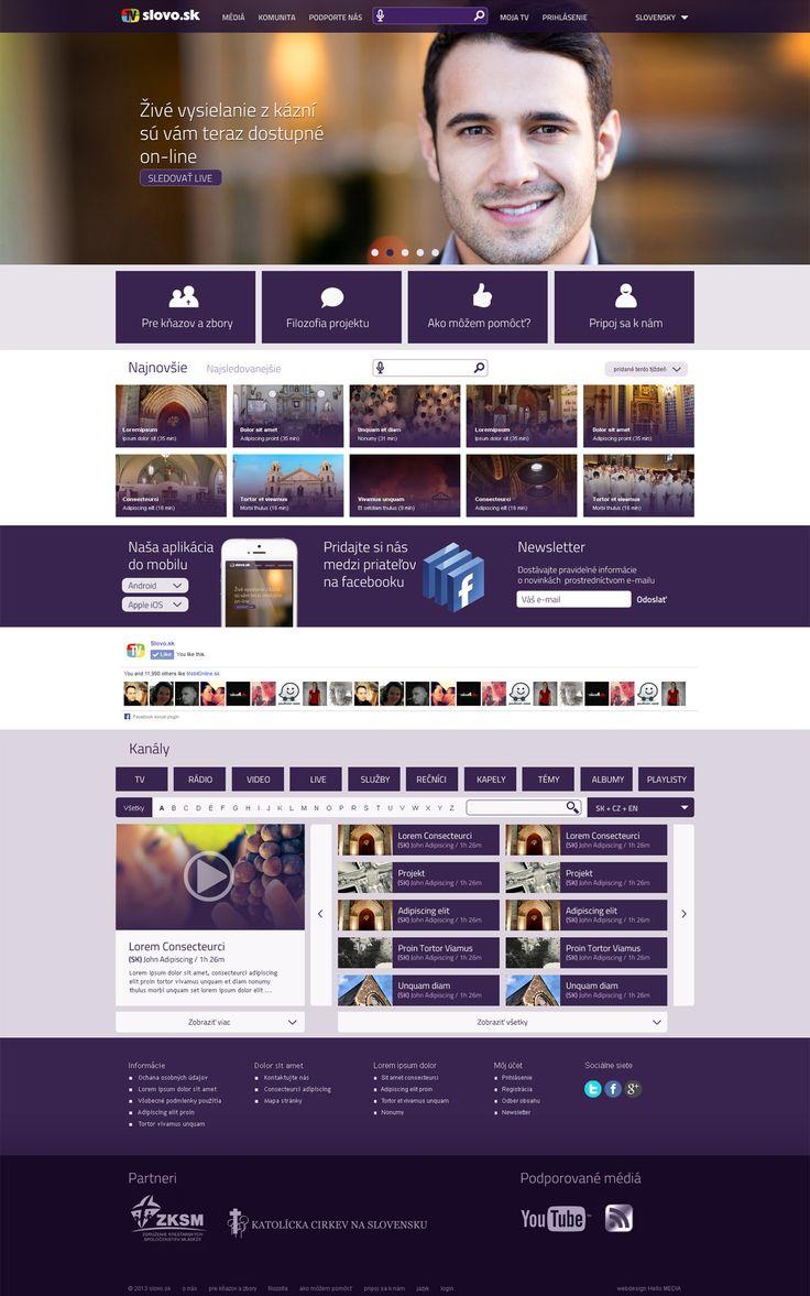 Slovo Complex Webdesign, UE, UI Design