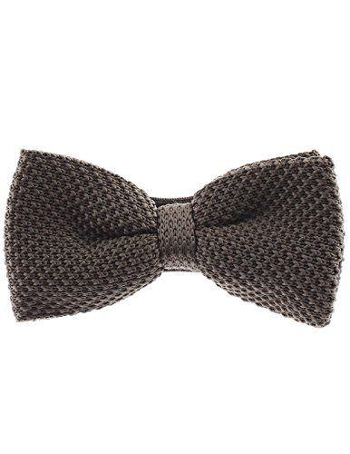 FLATSEVEN Homme Couleur Unie Pré-Noué Tricot Noeud Papillon (YB503) Vert #FLATSEVEN #vetement #fashion #homme #Noeud #Papillon