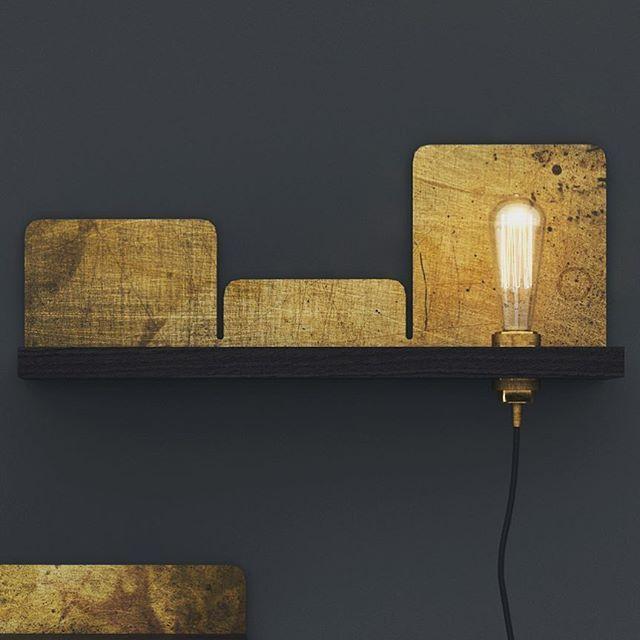 Rustic metal lamps from Kosmonaut. Danish interior designer/producer in Poland