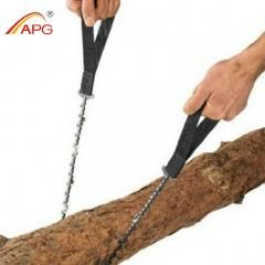 [ 32% OFF ] Apg 65Cm Outdoor Survival Pocket Chainsaw And Camping Gardening Hand Chain Saw