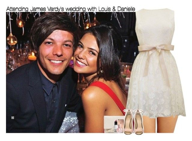 """""""Attending James Vardy's wedding with Louis & Danielle"""" by rowenafsouriya ❤ liked on Polyvore featuring DKNY, Forever 21, Mura, Giuseppe Zanotti and Topshop"""