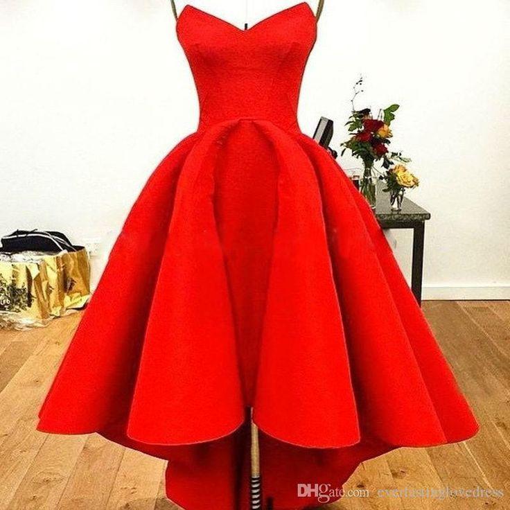 Cheap red designer dresses