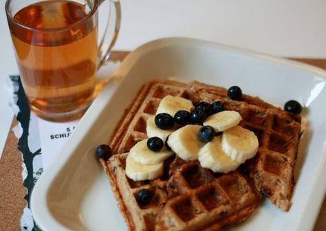 Wafels maken - recept zonder melk en ei