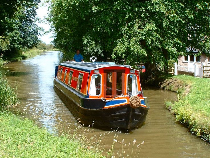 narrowboat holiday in England of course!