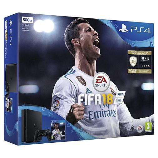 Tesco direct: PlayStation 4 Slim 500GB FIFA 18 Console