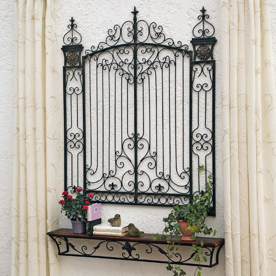 Find This Pin And More On Iron Works Wall Decor Adds Symmetry To Your Dwelling By Diymasterscom