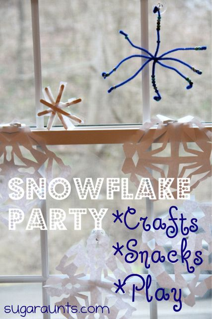 Sugar Aunts: Snowflake Party