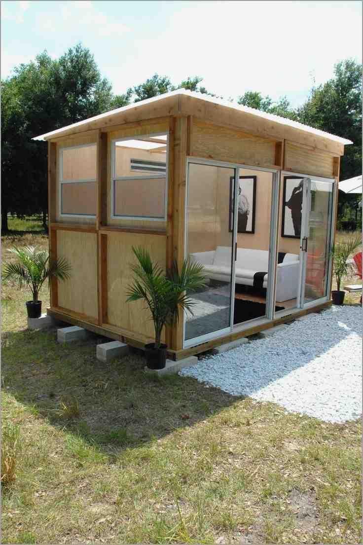 Modern prefab shed kits backyard studio