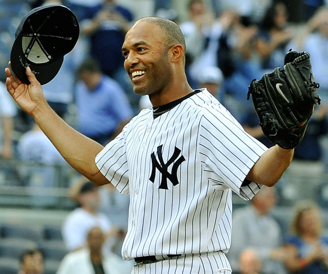 In September, Mariano Rivera saved his 602nd career game in front of a packed house at Yankee Stadium. The future Hall-of-Fame closer passed Trevor Hoffman to set the record for most saves in an MLB career (and made SI.com's list of Biggest Sports stories of 2011). (AP) GALLERY: Biggest Sports Stories of 2011 VERDUCCI: Rivera gets better with age: Mariano Rivera, All Tim Save, Alltim Save, 602Nd Career, Save Records, Jam N, Yankees Stadiums, Yank Baseb, New York Yankees