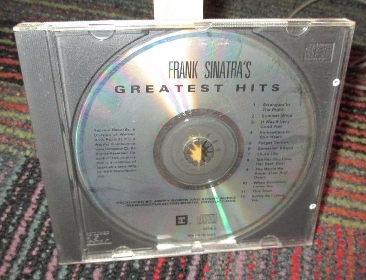 FRANK SINATRA: FRANK SINATRA'S GREATEST HITS CD, GREAT MUSIC, GOOD CONDITION…